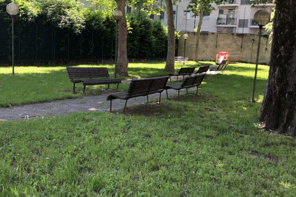 Spazio giardino Centro Culturale Rosetum