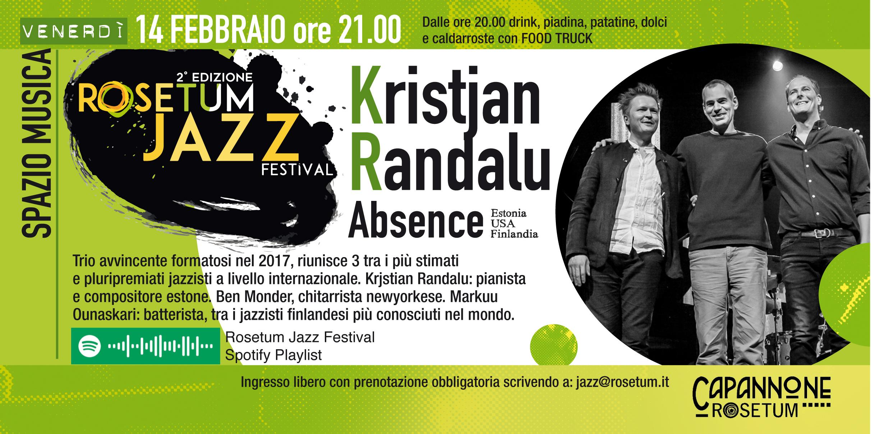 14 feb 2020 Rosetum Jazz Festival Randalu Trio