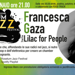 Rosetum Jazz Festival Francesca Gaza 17 gennaio