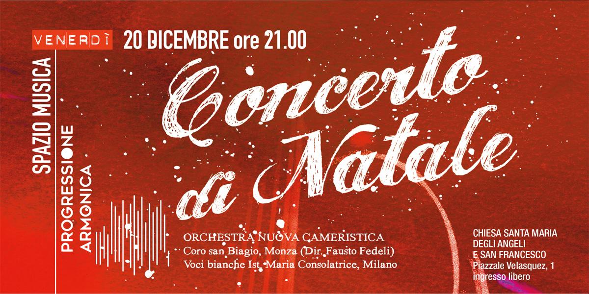 20 dic 2019 Concerto di Natale Rosetum