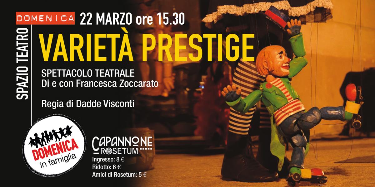 22 marzo 2020 varietà prestige domenica in famiglia rosetum