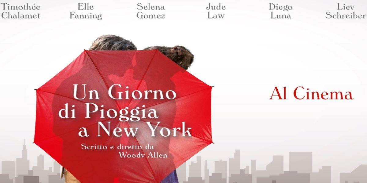 Un giorno di pioggia a new york cinema rosetum 23 genaio 2020