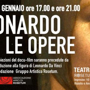 La grande arte al cinema_Leonardo_rosetum_14 gennaio
