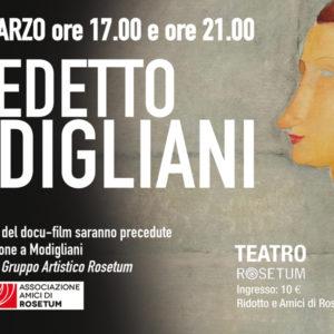 Maledetto Modigliani grande arte al cinema Rosetum
