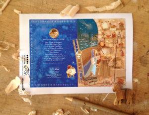 calendario avvento 2021 rosetum illustrazioni di Anna Formaggio testi di Paola Navotti